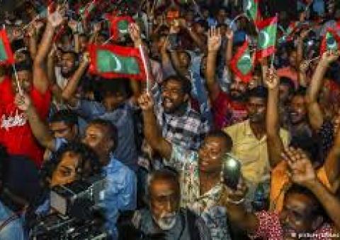 Maldives Amidst Political Crisis