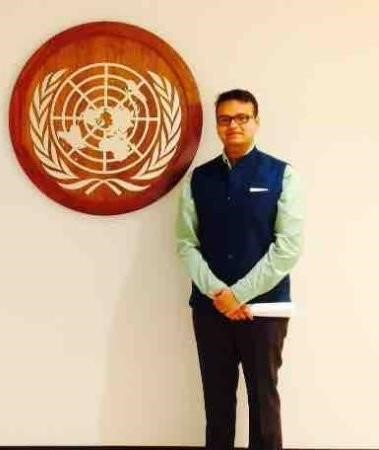 JSIA alumnus Pratyush Sharma makes his mark on the global stage